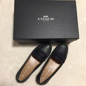 Coach Odette Leather Loafer